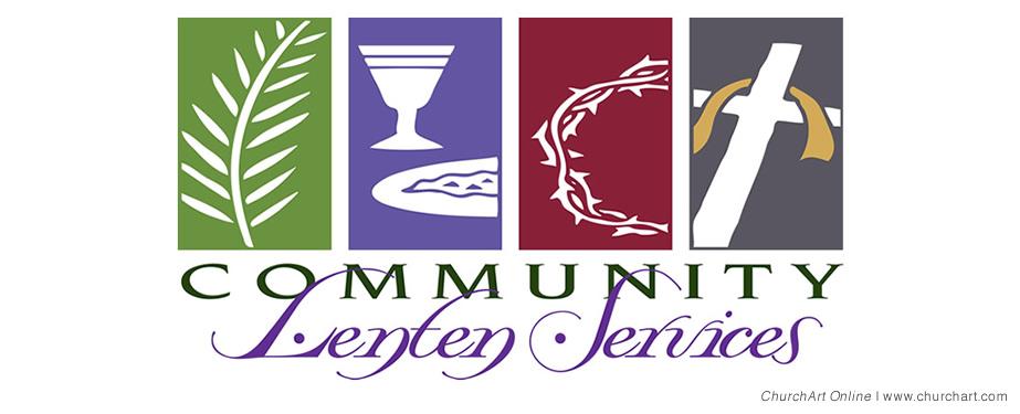 Lenten Services clip-art