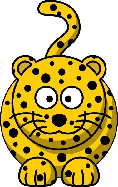 Leopard Clip Art-Leopard clip art-5