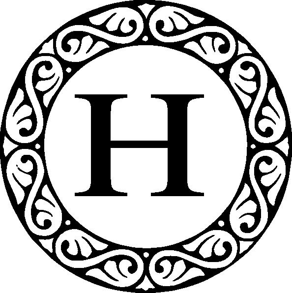 Letter A Monogram Clip Art ..