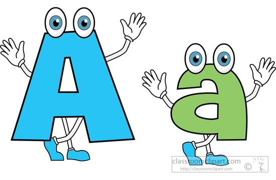 ... letter alphabet a upper lower; free clipart ...
