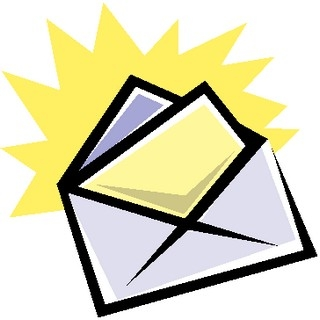This envelope clip art has be