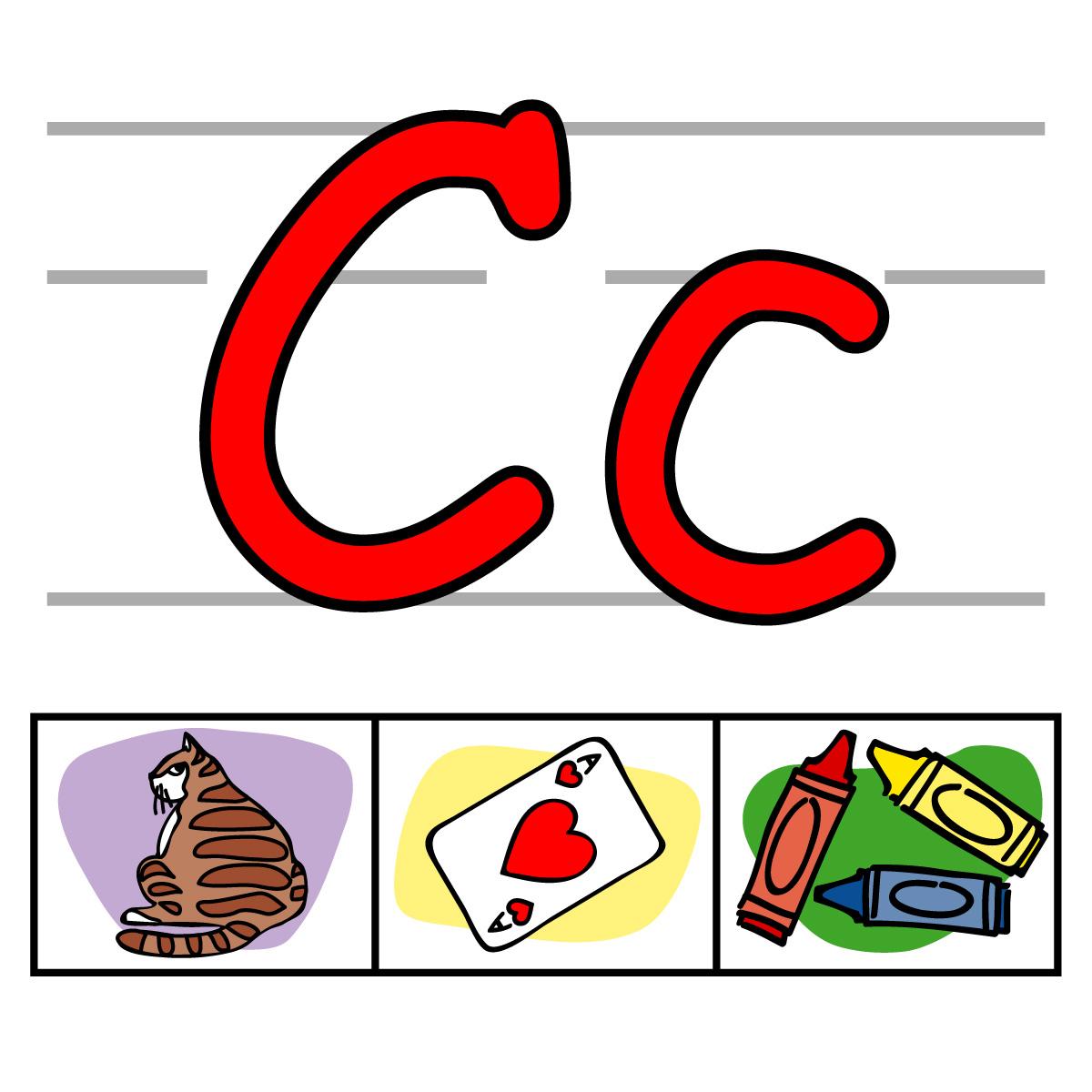 Letter C Clipart. Clip Art Alphabet Set -Letter C Clipart. Clip Art Alphabet Set 00 I ..-5