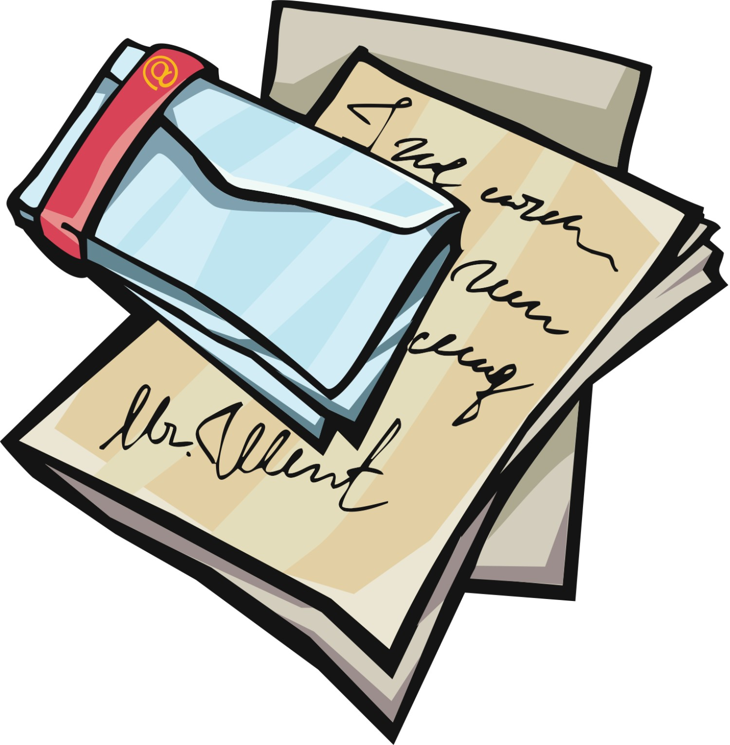 Letter Clip Art-Letter Clip Art-3