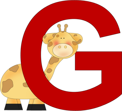 Letter G Clipart Alphabets Clipart