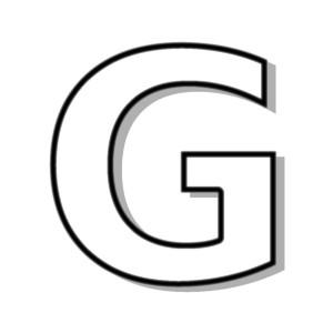 Letter G Clipart. G-Letter G Clipart. G-9