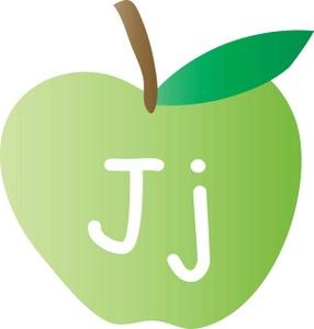 Letter j clip art - .