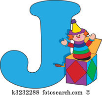 Letter J With A Jack In A Box-Letter J with a Jack in a Box-10