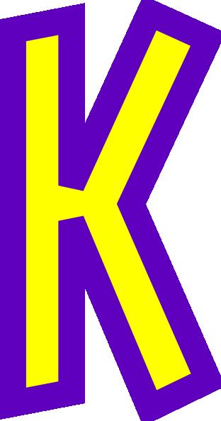 Letter K Clip Art At Clker Com Vector Cl-Letter K Clip Art At Clker Com Vector Clip Art Online Royalty Free-2