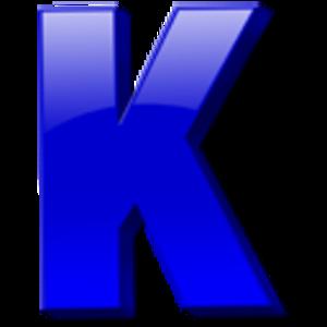 Letter K Icon Image