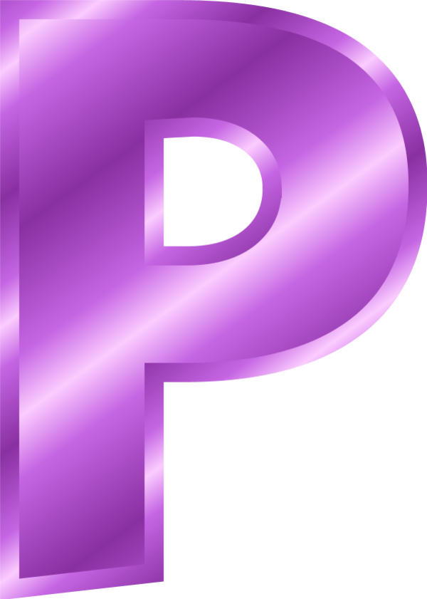 11 Letter P Clipart