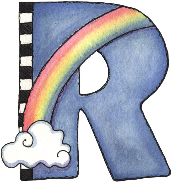 ... Letter R Art Clipart - Free To Use C-... Letter R Art Clipart - Free to use Clip Art Resource ...-11