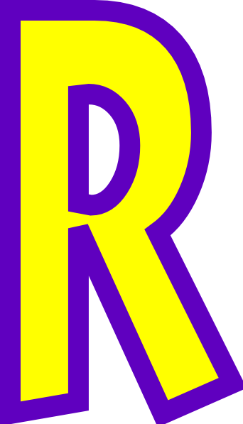 Letter R Clip Art At Clker Com Vector Clip Art Online Royalty Free