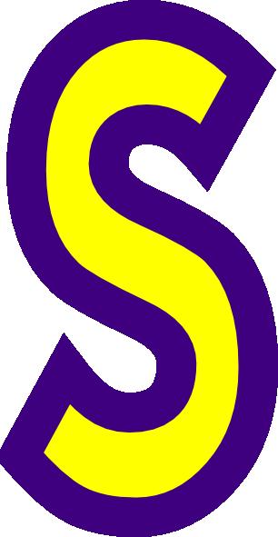 Letter S Clip Art At Clker Com Vector Clip Art Online Royalty Free