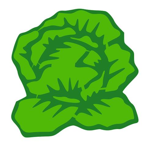 Lettuce Slice Clip Art-Lettuce slice clip art-16