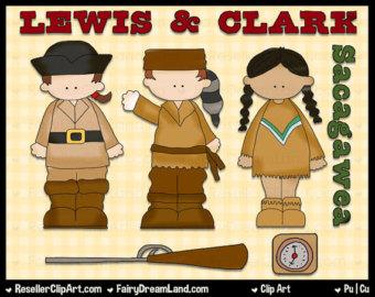 Lewis u0026amp; Clark Digital Clip Art ..