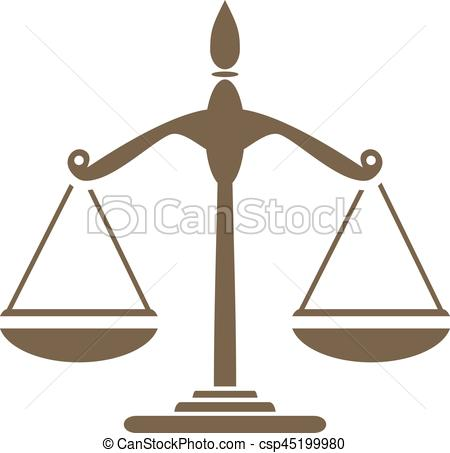 Libra. Symbol for design - csp45199980