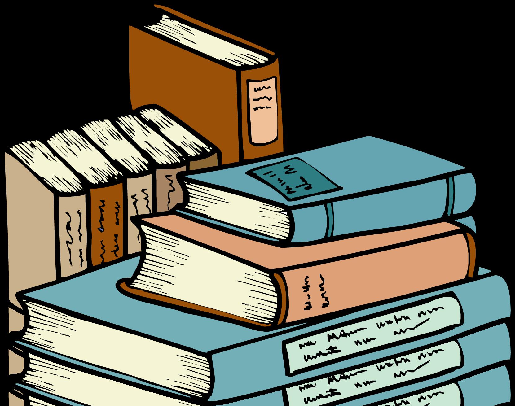 Library Books Clip Art ..
