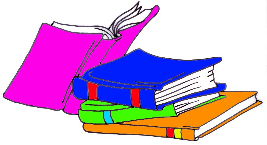 Library Books Clip Art - Clipart library