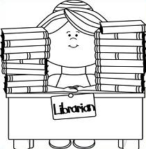 Library Clipart Black And White-Library Clipart Black And White-11
