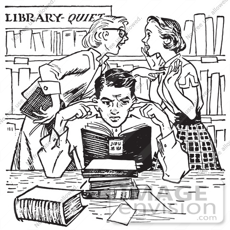 Library Clipart Black And White-library clipart black and white-13