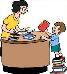 Library free librarian clipart