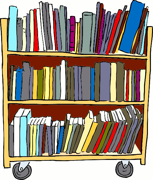 Library librarian clip art librarian image image