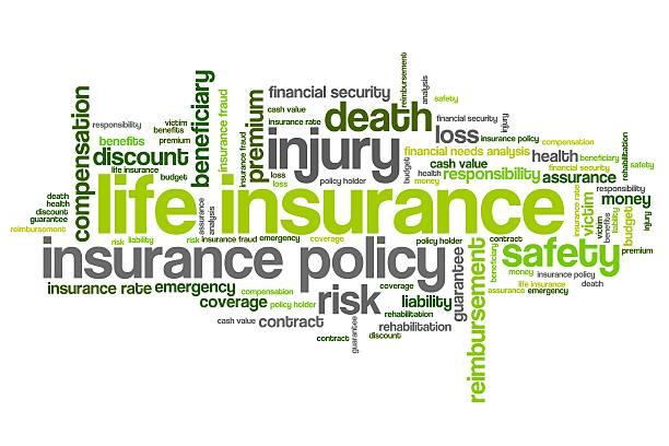 Life insurance vector art illustration