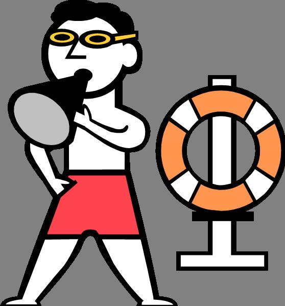 Lifeguard Clipart-lifeguard clipart-5
