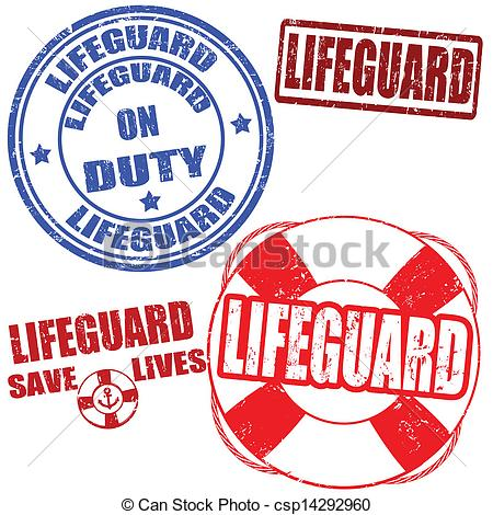 Lifeguard Stamps - Set Of Grunge Lifegua-Lifeguard stamps - Set of grunge lifeguard rubber stamps,.-16