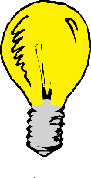 light bulb idea clip art