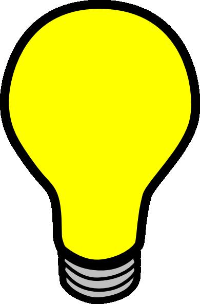 Light Bulb Animation Clipart-Light bulb animation clipart-8