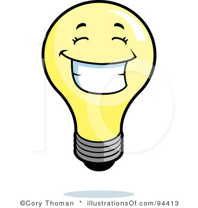 Light Bulb Clip Art Black And White Clipart Panda Free Clipart