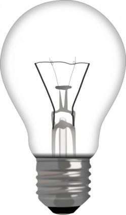 Light Bulb clip art free .