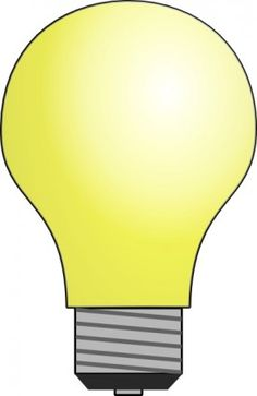 Light Bulb Clip Art-Light Bulb clip art-8