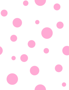 Light Pink Polka Dots Clip Art At Clker Com Vector Clip Art Online