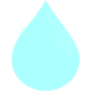 Light Raindrop clip art - Raindrop Clip Art