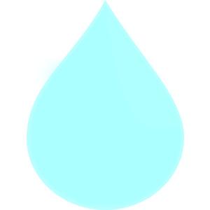 Light Raindrop Clip Art-Light Raindrop clip art-6