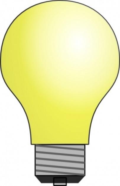 Lightbulb Clip Art Vector .-Lightbulb clip art Vector .-16