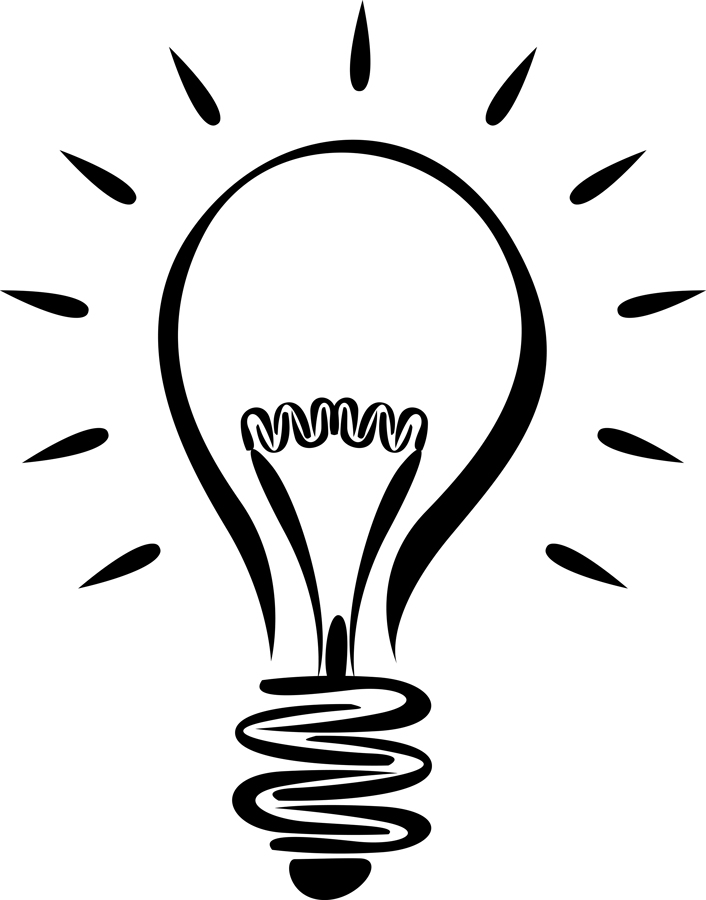 Lightbulb free light bulb clip .
