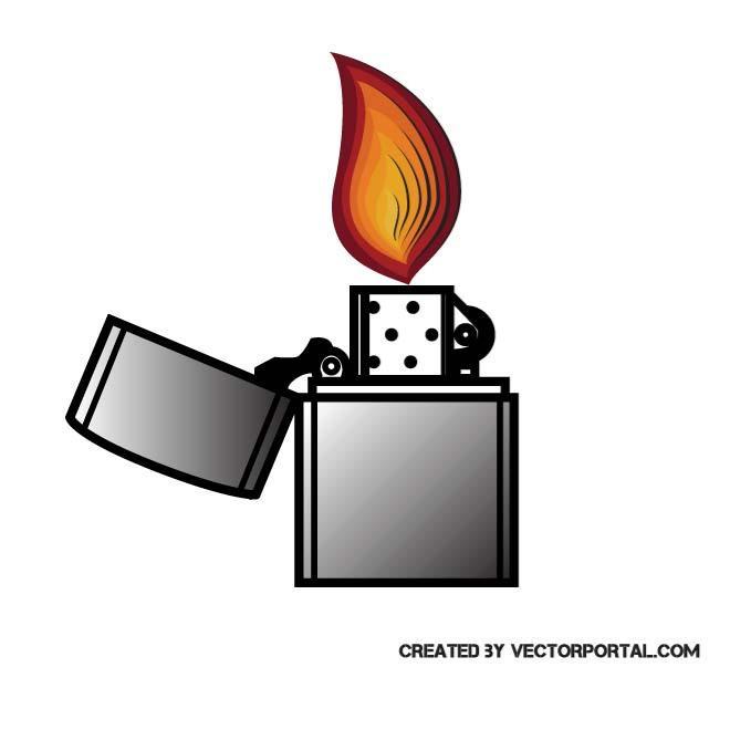 IMAGE OF A LIGHTER - Lighter Clipart