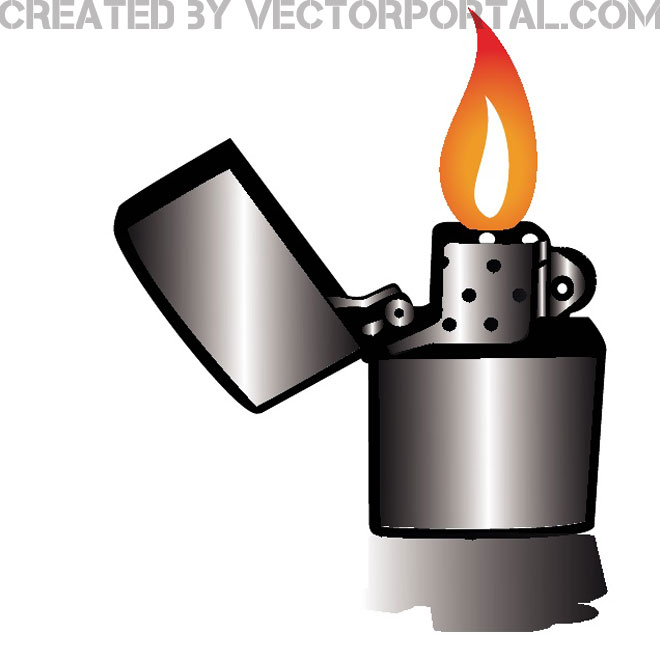 LIGHTER VECTOR IMAGE - Lighter Clipart
