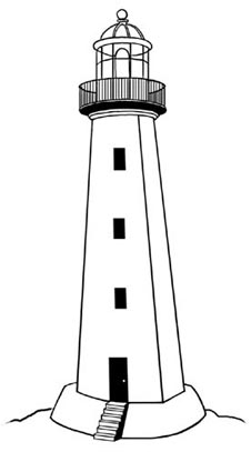 Lighthouse clip art-Lighthouse clip art-4