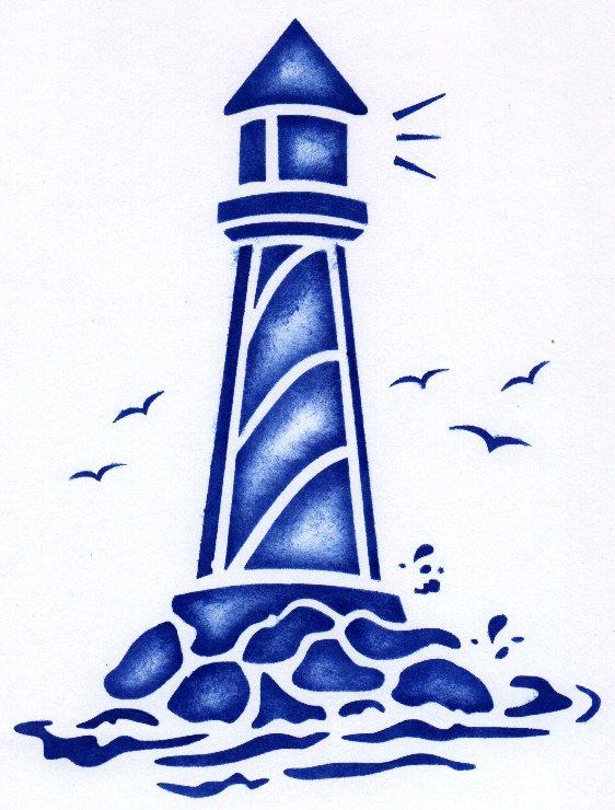 Lighthouse Clipart #9360-Lighthouse Clipart #9360-12