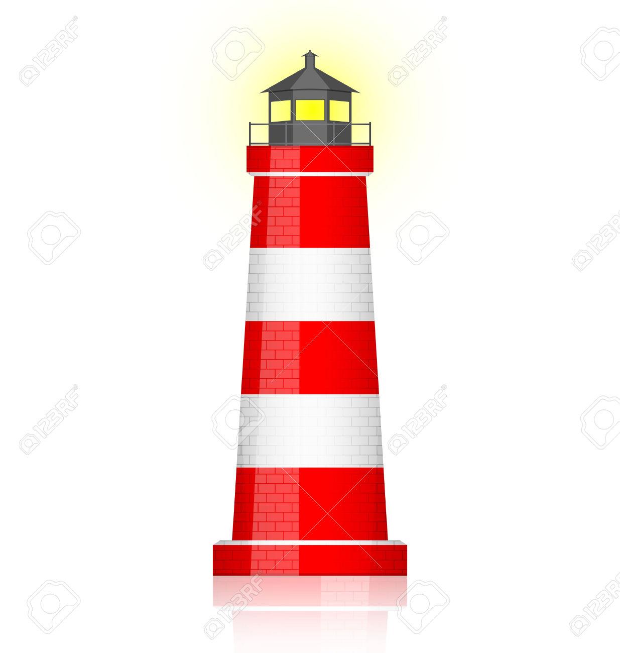 lighthouse: Vector illustration of light-lighthouse: Vector illustration of lighthouse-16
