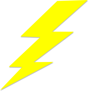 Lightning Bolt Clip Art At Clker Com Vector Clip Art Online Royalty