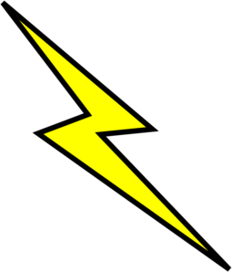 Lightning bolt clip art at clker vector clip art