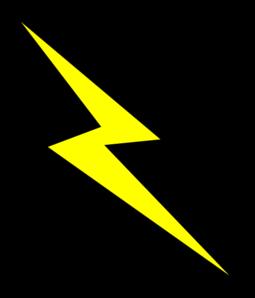 Lightning bolt clip art at cl - Lightning Clipart