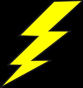 Lightning Bolt Clip Art - Lightening Clipart