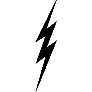 ... Lightning Bolt Clip Art - clipartall
