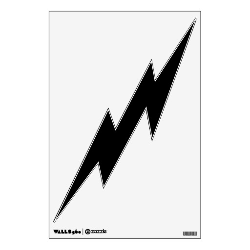 Lightning Bolt Clipart Black And White Clipart Panda Free Clipart